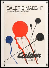 6w044 GALERIE MAEGHT CALDER 20x29 French museum/art exhibition 1960s Alexander Calder abstract art!