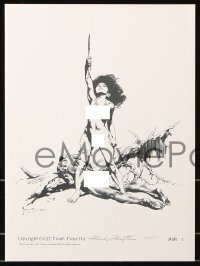 6w045 FRANK FRAZETTA #1249/1500 limited edition 11x15 art print set 1977 Women of the Ages, 1 signed
