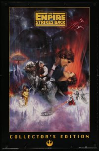 6x148 EMPIRE STRIKES BACK 23x35 Canadian commercial poster 1997 Collector's Edition, Kastel art!