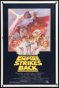 6x107 EMPIRE STRIKES BACK studio style 1sh R1981 George Lucas sci-fi classic, artwork by Tom Jung!