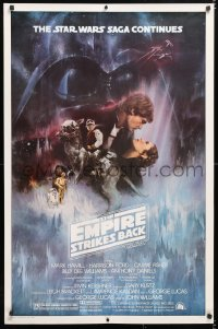 6x104 EMPIRE STRIKES BACK studio style 1sh 1980 classic Gone With The Wind style art by Roger Kastel