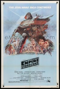 6x101 EMPIRE STRIKES BACK style B NSS style 1sh 1980 George Lucas classic, art by Tom Jung!