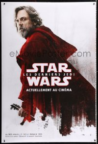 6x276 LAST JEDI 6 printer's test teaser DS French 47x69s 2017 Star Wars, Fisher, Hamill, top cast!