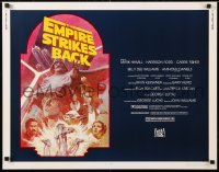6x123 EMPIRE STRIKES BACK 1/2sh R1982 George Lucas sci-fi classic, cool artwork by Tom Jung!