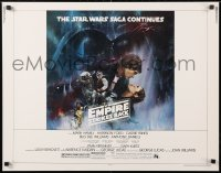 6x114 EMPIRE STRIKES BACK 1/2sh 1980 classic Gone With The Wind style art by Roger Kastel!