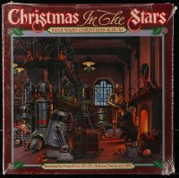 6x095 CHRISTMAS IN THE STARS: STAR WARS CHRISTMAS ALBUM record 1980 Ralph McQuarrie art!