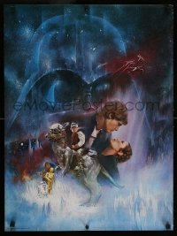 6x143 EMPIRE STRIKES BACK 20x27 special poster 1980 Gone With The Wind style art by Roger Kastel!