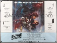 6x121 EMPIRE STRIKES BACK subway poster 1980 classic Gone With The Wind style art by Roger Kastel!