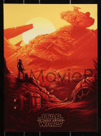 6x272 FORCE AWAKENS group of 4 IMAX at AMC mini posters 2015 Star Wars: Episode VII, Mumford art!