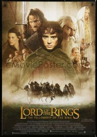 6y079 LORD OF THE RINGS: THE FELLOWSHIP OF THE RING Aust 1sh 2001 Tolkien, Peter Jackson!