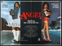 6y452 ANGEL British quad 1983 high school honor student by day, Hollywood hooker at night!