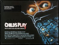 6y461 CHILD'S PLAY British quad 1989 when Freddy has nightmares he dreams of Chucky!