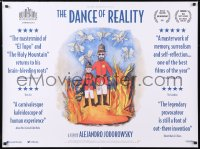6y465 DANCE OF REALITY British quad 2015 Alejandro Jodorowsky's autobiographical movie!