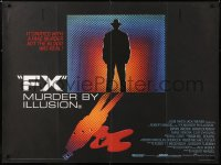 6y473 F/X British quad 1986 Bryan Brown, Brian Dennehy, is it murder or is it special effects!