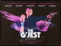 6y478 GUEST advance British quad 2014 Maika Monroe, Dan Stevens is here to help with gun!