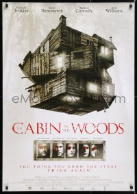 6y008 CABIN IN THE WOODS DS Dutch 2012 Kristen Connolly, Chris Hemsworth, creepy image!