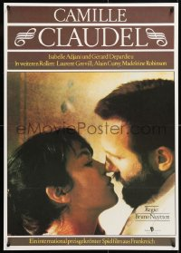 6y191 CAMILLE CLAUDEL East German 23x32 1990 sexy Isabelle Adjani & Gerard Depardieu as Rodin!