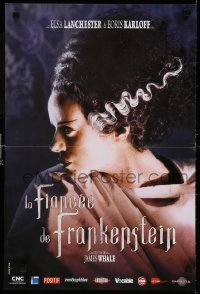 6y907 BRIDE OF FRANKENSTEIN French 16x24 R2008 super close up of Elsa Lanchester in the title role!