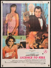 6y065 LICENCE TO KILL Indian 1989 Timothy Dalton as James Bond, sexy Carey Lowell & Talisa Soto!