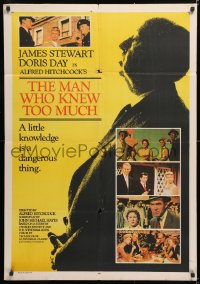 6y066 MAN WHO KNEW TOO MUCH Indian R1983 directed by Alfred Hitchcock, James Stewart & Doris Day!