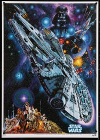 6y764 STAR WARS Japanese R1982 George Lucas classic epic, Commemorative art by Noriyoshi Ohrai!