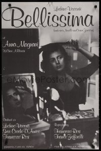 6y029 BELLISSIMA Swiss R1980s directed by Luchino Visconti, Anna Magnani!