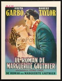 6z046 CAMILLE 16x21 REPRO poster 1990s Robert Taylor is Greta Garbo's new leading man!