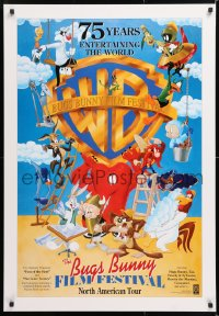 6z019 BUGS BUNNY FILM FESTIVAL DS 27x39 Canadian film festival poster 1998 Bugs Bunny, Tweety!