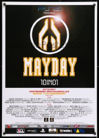 6z068 MAYDAY 23x33 German music poster 2001 really completely different art and design!