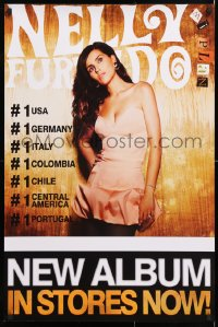 6z071 NELLY FURTADO 24x36 music poster 2009 Mi Plan, great image of the sexy singer!
