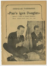 7a359 SAY YOUNG FELLOW Danish program 1920 great images of Douglas Fairbanks Sr.!