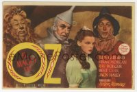 7a721 WIZARD OF OZ 1pg Spanish herald 1945 Judy Garland, Jack Haley, Bert Lahr, Bolger, different!