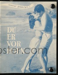 7a334 OUR VERY OWN Danish program 1950 different images of pretty Ann Blyth & Farley Granger!