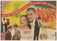 7a442 AFTER THE THIN MAN 4pg Spanish herald 1940 William Powell, Myrna Loy & Asta the dog too!