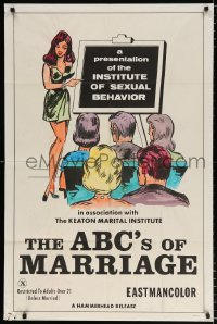 7b024 ABC'S OF MARRIAGE 1sh 1970 a presentation of the Institute of Sexual Behavior!