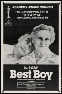 7b141 BEST BOY 1sh 1979 great images from Ira Wohl's Academy Award winning documentary!