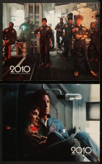 7c022 2010 8 LCs 1984 sci-fi sequel to 2001: A Space Odyssey, cool space images!