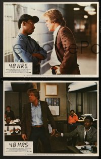 7c024 48 HRS. 8 LCs 1982 Nick Nolte & Eddie Murphy, crime classic directed by Walter Hill!