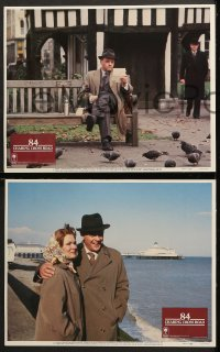 7c025 84 CHARING CROSS ROAD 8 LCs 1987 Anthony Hopkins & Anne Bancroft, Judi Dench!