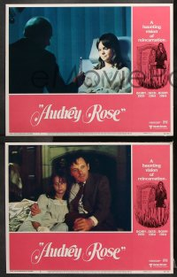 7c044 AUDREY ROSE 8 LCs 1977 Susan Swift, Anthony Hopkins, a haunting vision of reincarnation!