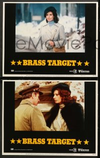 7c062 BRASS TARGET 8 LCs 1978 Sophia Loren, George Kennedy & Max Von Sydow search for Nazi gold!