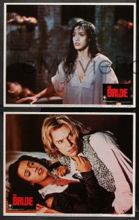 7c063 BRIDE 8 LCs 1985 Sting, Jennifer Beals, a madman and the woman he created!
