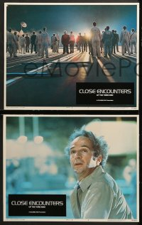 7c080 CLOSE ENCOUNTERS OF THE THIRD KIND 8 LCs 1977 Steven Spielberg sci-fi classic, Dreyfuss!