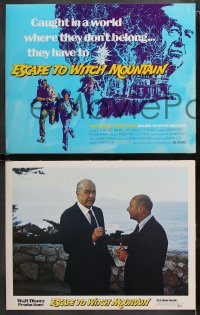 7c014 ESCAPE TO WITCH MOUNTAIN 9 LCs 1975 Disney, Eddie Albert, Ray Milland, Donald Pleasance!
