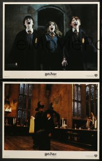 7c003 HARRY POTTER & THE PHILOSOPHER'S STONE 12 LCs 2001 images of cast, Sorcerer's Stone!
