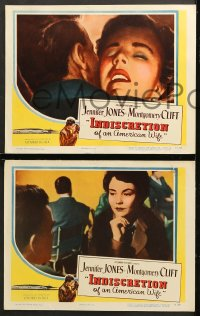 7c166 INDISCRETION OF AN AMERICAN WIFE 8 LCs 1954 De Sica, Jennifer Jones, Montgomery Clift!