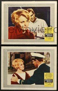 7c197 MOMENT TO MOMENT 8 LCs 1965 sexy Jean Seberg, gorgeous Honor Blackman, Sean Garrison!