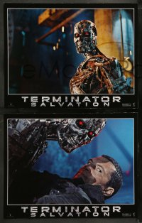 7c005 TERMINATOR SALVATION 12 LCs 2009 Christian Bale, Sam Worthington, cool sci-fi images!