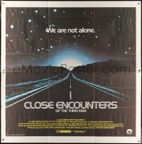 7d020 CLOSE ENCOUNTERS OF THE THIRD KIND int'l 6sh 1977 Steven Spielberg sci-fi classic!