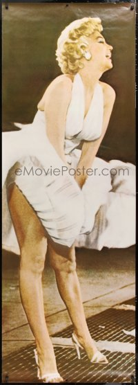 7d103 MARILYN MONROE 26x74 commercial poster 1983 sexy iconic image from Seven Year Itch!